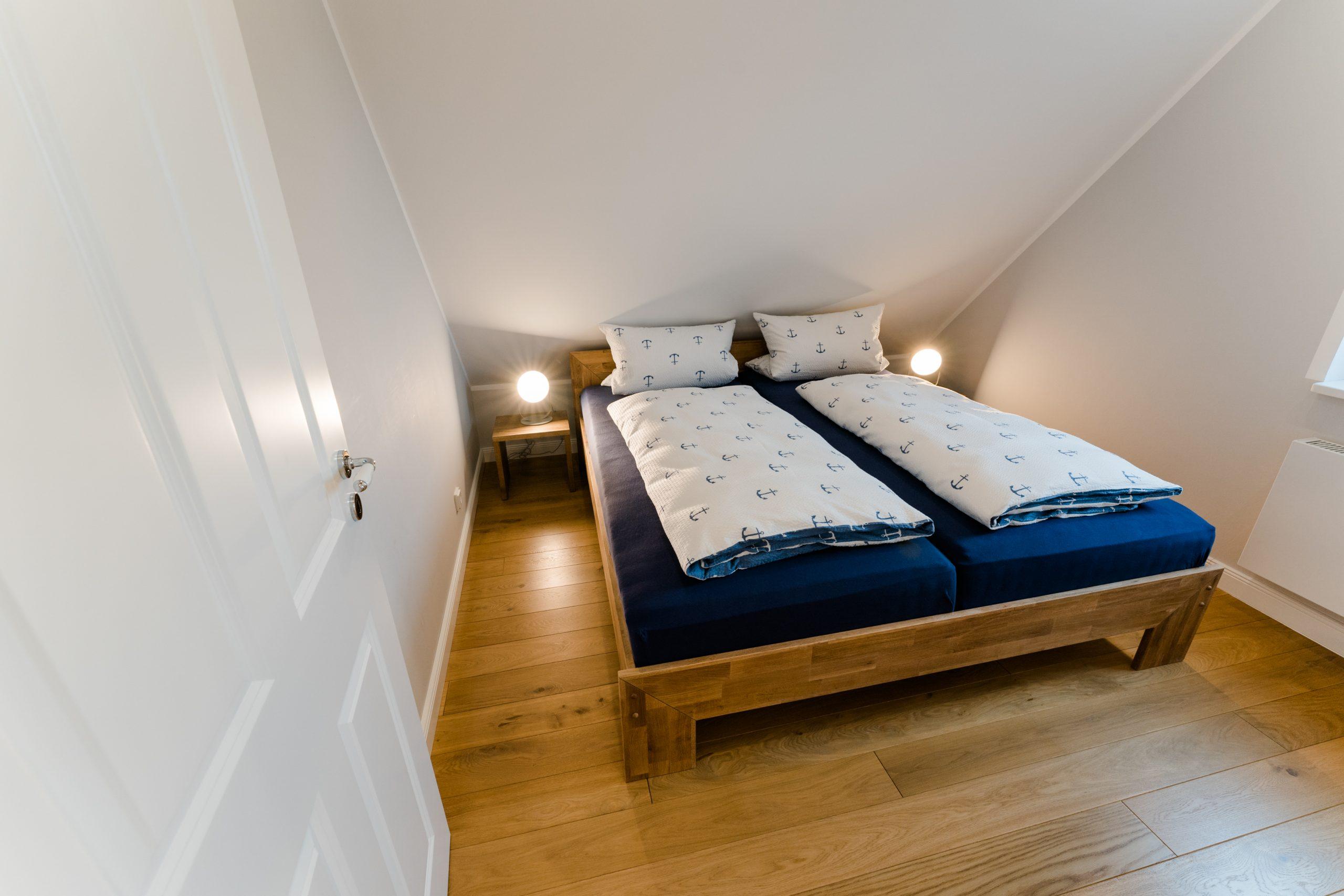 Ferienhaus Sjuts_Doppelzimmer im OG