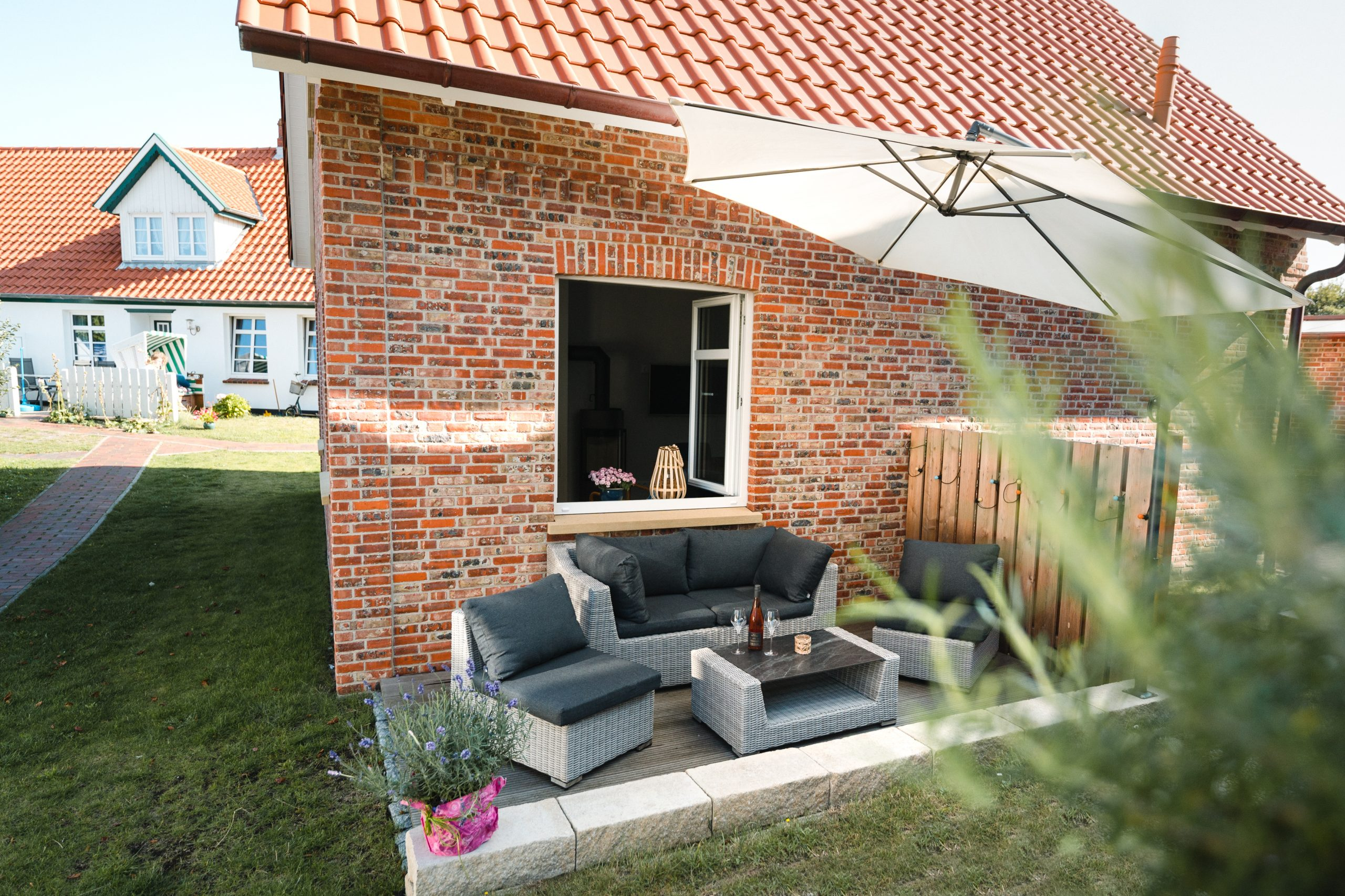 Ferienhaus Sjuts_Sonnenterrasse